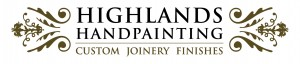 Highlands Hand Painting